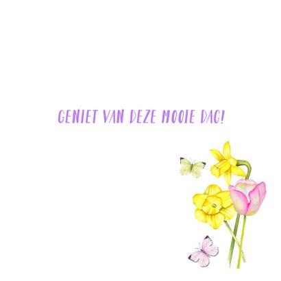 Verjaardag voorjaarsbloemen 3
