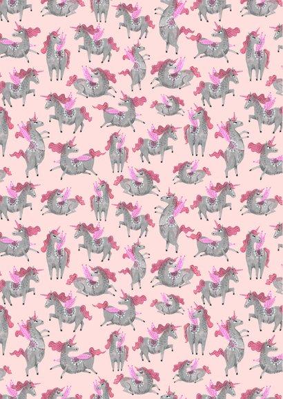 Verjaardagsfeestje unicorn dessin 2