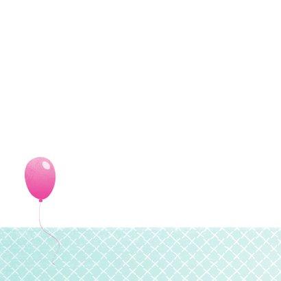Verjaardagskaart Ballon 99 2