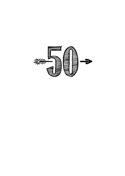 Verjaardagskaart born in 1969 - 50 years of being fabulous 3