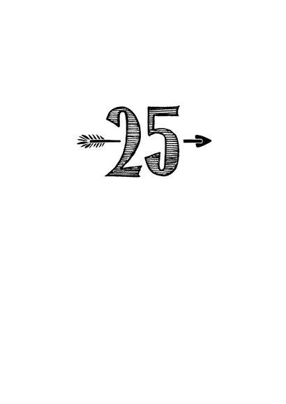 Verjaardagskaart born in 1994 - 25 years of being fabulous 3