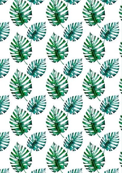 Verjaardagskaart botanisch 2
