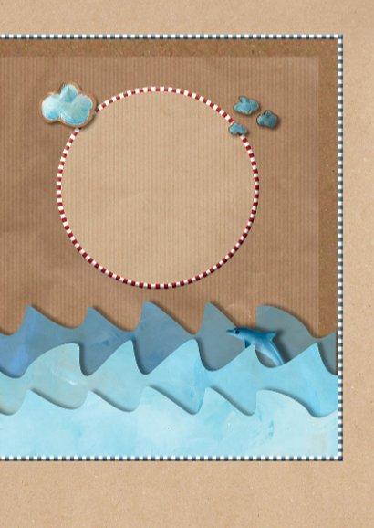 Verjaardagskaart Brown Paper Box Zee 3