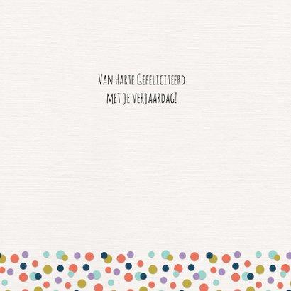 Verjaardagskaart Confetti-60 3