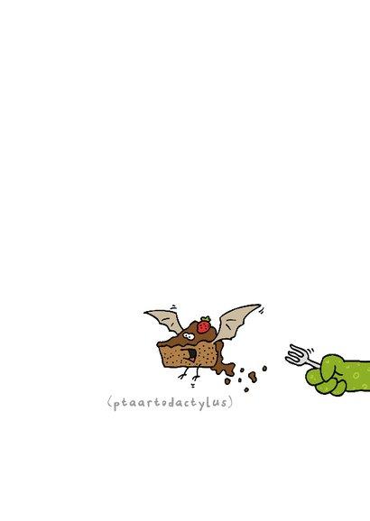Verjaardagskaart Gefelisaurus 3