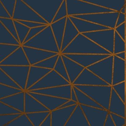 Verjaardagskaart geometrisch patroon Birthday Wishes 2