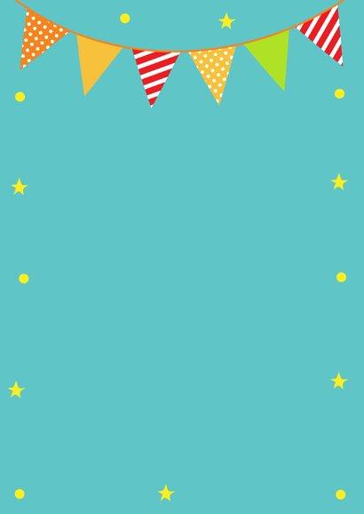 Verjaardagskaart ijsbeer slinger 3
