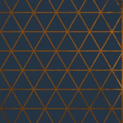 Verjaardagskaart It's your Birthday geometrisch patroon 2