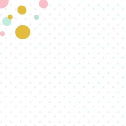 Verjaardagskaart kleurrijk confetti 2