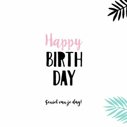 Verjaardagskaart plant-pc 3