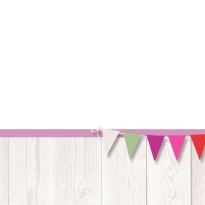 Verjaardagskaart tulpen vlag av 3