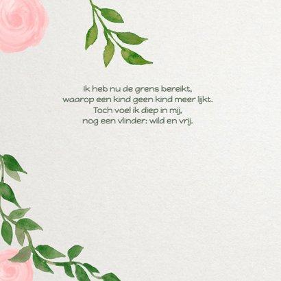 Vormsel rozen meisje - DH 2