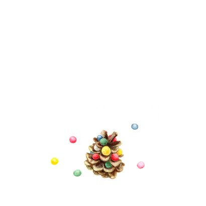 Vrolijke en kleurrijke Kerst 2