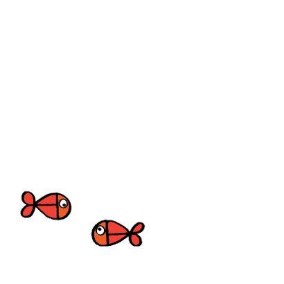 Vrolijke felicitatie trouwen vis 2
