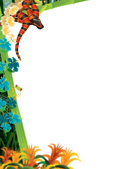 YVON dinosaurus jungle stoer foto 2