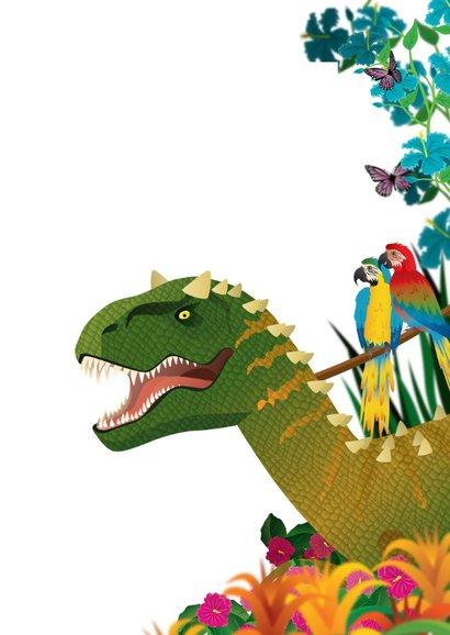 YVON dinosaurus jungle stoer foto 3