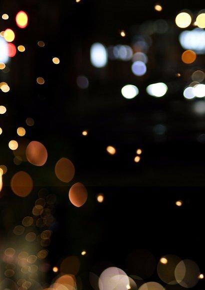 Zakelijke kerstkaart glamour neon - LO 2