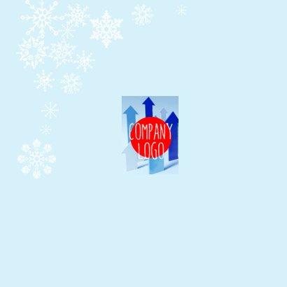 Zakelijke kerstkaart Sneeuw  2