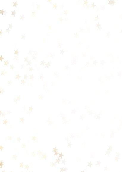 Zakelijke kerstkaart sneeuwvlok- Een gouden kerst 2