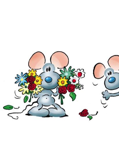 zomaar 1 muisjes met bloemen 3