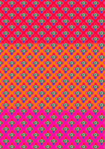 Zomaar kaart Colorful PA 2
