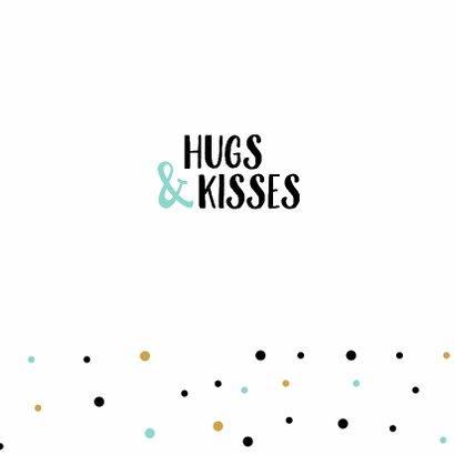 Zomaarkaart papieren knuffel 3