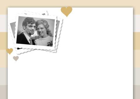 50 jaar getrouwd eigen foto en stempel 2