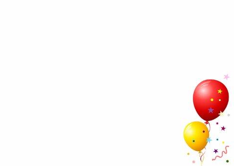 Balonnenkader Confetti Foto 3