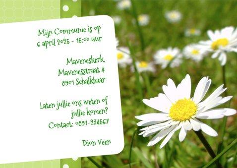 Bloemenkaart Madeliefje - BK 3