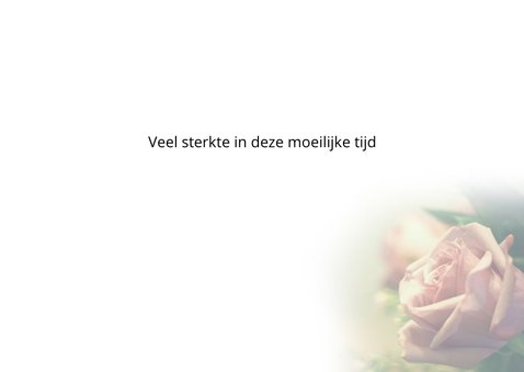condoleancekaart sereen roos 3