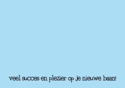 Felicitatie Baan Collegas 2