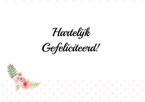 Felicitatie trouwdag hart 3