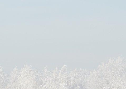 fotokaart sneeuwlandschap 2