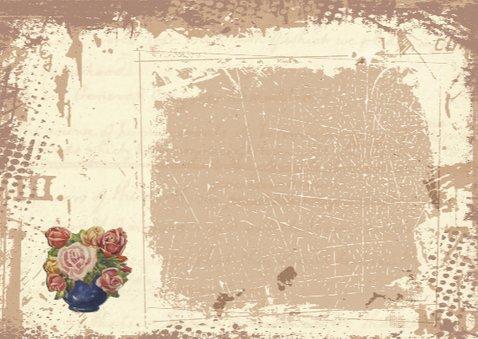 Gefeliciteerd kruiwagen bloemen 3