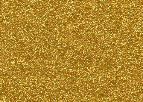 Hippe kerstkaart goud kerstmis ster 2