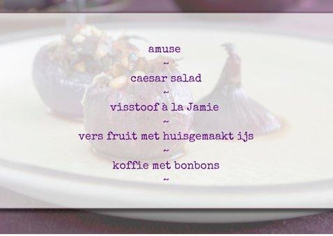 ingrediënten voor een heerlijk menu 3