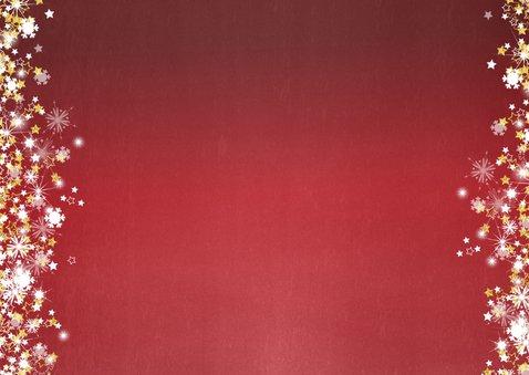 Kerst stijlvol rood  handlettering goud glitter 2019 2