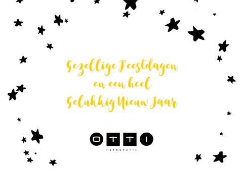 Kerstkaart ballonnen xmas 2019 goud 3