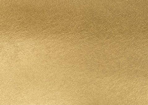 Kerstkaart goud foto 2