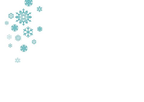 Kerstkaart Merry Snowman 2