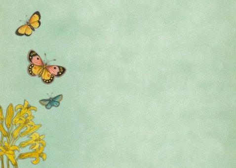 Kinderfeestje met vlinders en bloemen 2