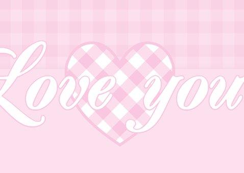 Liefdeskaart Love you - BK 2