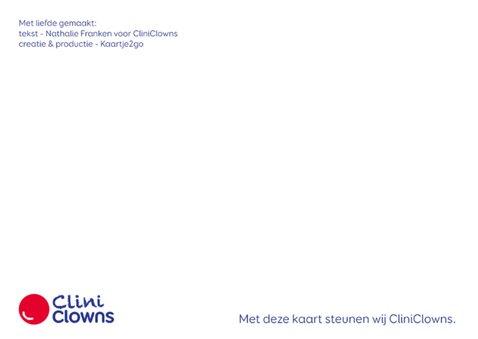 Niemand is perfect CliniClowns 2