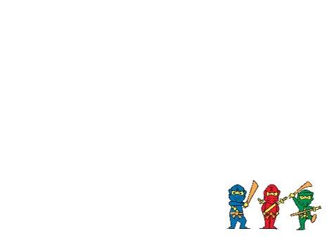 Ninja is jarig 3