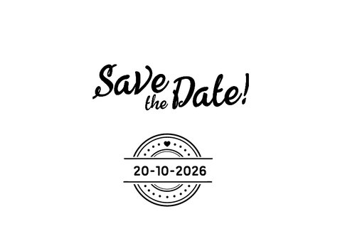 Save the date Doodles - DH 2