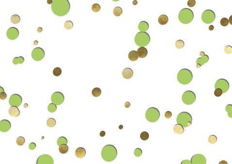 Uitnodiging 50 ballon groen 2