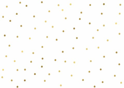 Uitnodiging B'day Gold - WW 2