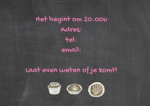 uitnodiging feest taartjes 3