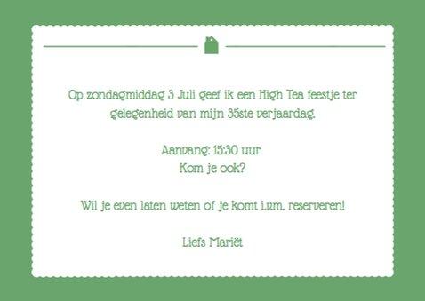 Uitnodiging High Tea Foto 3