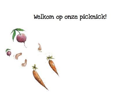 Uitnodigingen: Welkom op onze picknick! 3